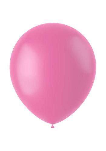Ballonnen Rosey Pink Mat - 33cm - 50 stuks