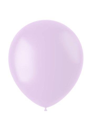 Ballonnen Powder Lilac Mat  - 33cm - 50 stuks