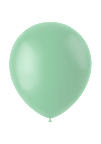 Ballonnen Powder Pistache Mat - 33cm - 50 stuks