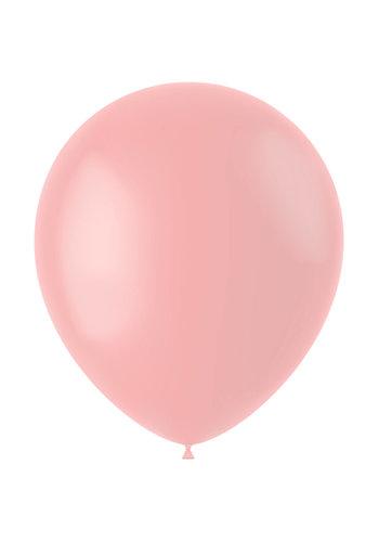 Ballonnen Powder Pink Mat - 33cm - 100 stuks