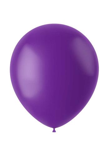 Ballonnen Orchid Purple Mat - 33cm - 100 stuks