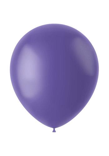 Ballonnen Cornflower Blue Mat - 33cm - 100 stuks