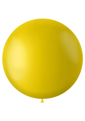 Ballon Tuscan Yellow Mat - 80cm - 1 stuk
