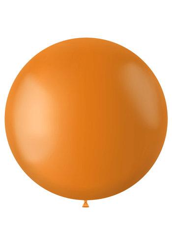 Ballon Tangerine Orange Mat - 80cm - 1 stuk