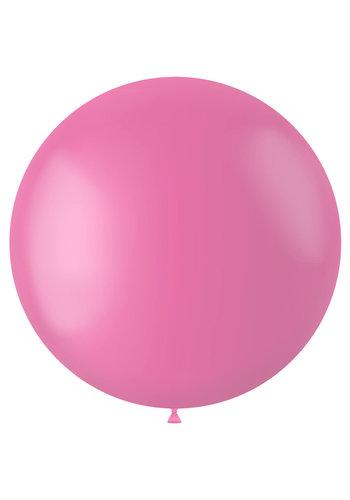 Ballon Rosey Pink Mat - 80cm - 1 stuk