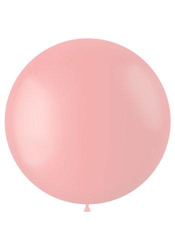 Ballon Powder Pink Mat - 80cm - 1 stuk
