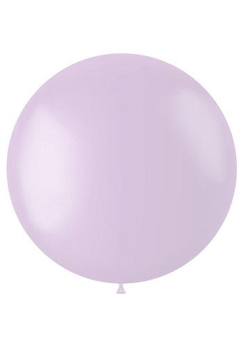 Ballon Powder Lilac Mat - 80cm - 1 stuk
