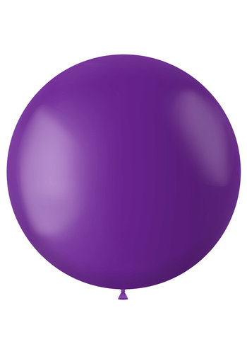 Ballon Orchid Purple Mat - 80cm - 1 stuk