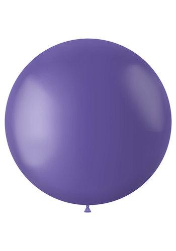 Ballon Cornflower Blue Mat - 80cm - 1 stuk