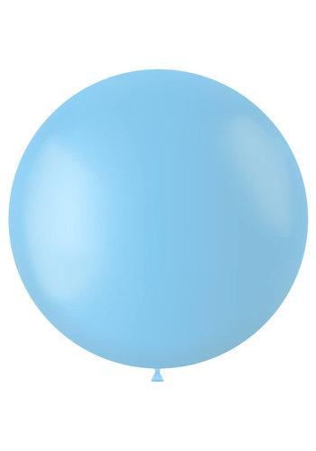 Ballon Powder Blue Mat - 80cm - 1 stuk