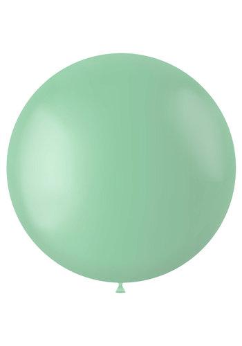 Ballon Powder Pistache Mat - 80cm - 1 stuk