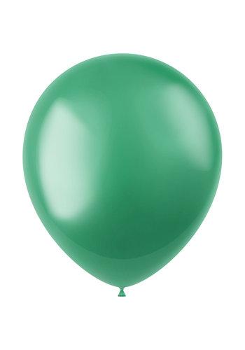 Ballonnen Regal Green Metallic 33cm - 10 stuks
