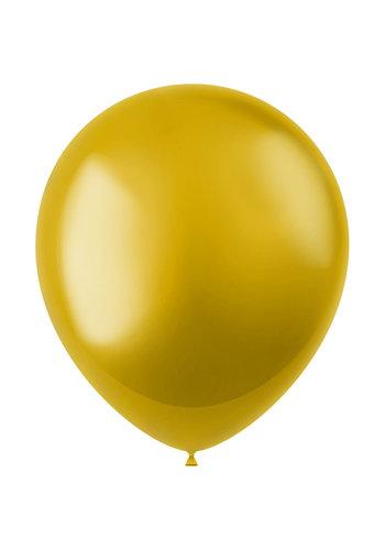 Ballonnen Gold Metallic 33cm - 50 stuks