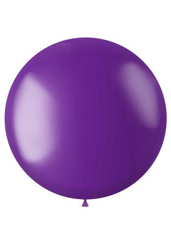 Ballon XL Violet Purple Metallic - 78cm - 1 stuk