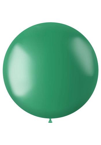Ballon XL Regal Green Metallic - 78cm - 1 stuk
