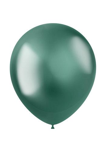Ballonnen Metal Shine Green - 33cm - 10 stuks