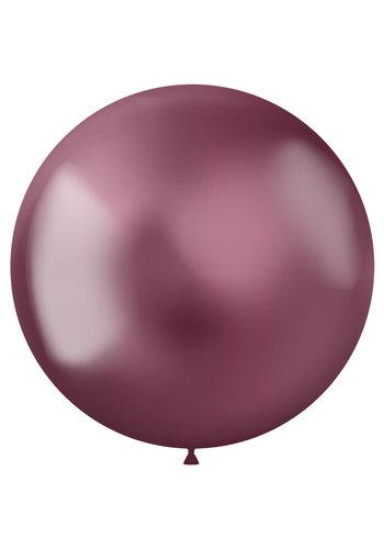 Ballonnen Metal Shine Pink - 48cm - 5 stuks