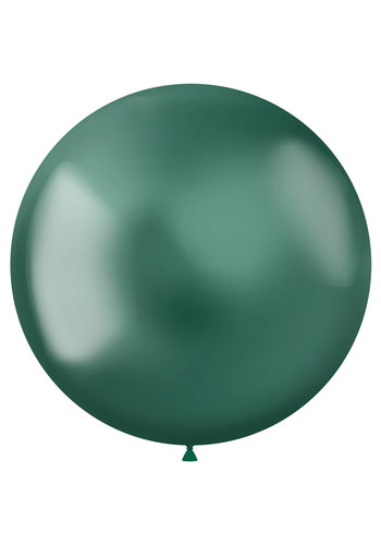 Ballonnen Metal Shine Green - 48cm - 5 stuks