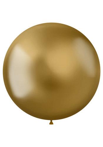 Ballonnen Metal Shine Gold - 48cm - 5 stuks