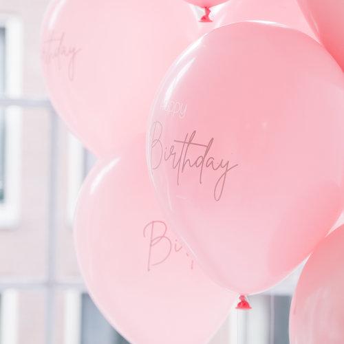 Happy Birthday ballonnen