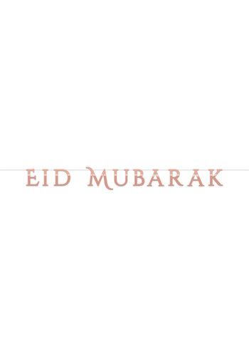 """Letterslinger """"Eid Mubarak"""" Rose Goud"""