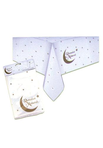 """Tafelkleed """"Ramadan Mubarak"""" Goud - 120x180cm"""