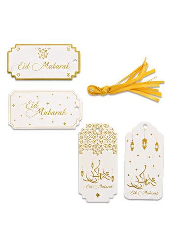 "Gift Labels ""Eid Mubarak"" Goud - 8st."