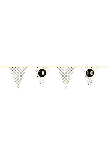 Vlaggenlijn 100 Festive Gold