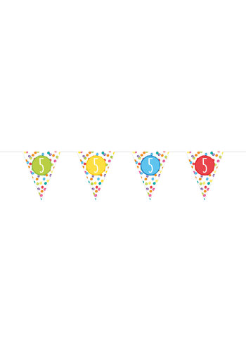 Vlaggenlijn 5 Festive Colors