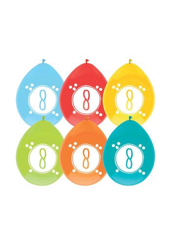 Ballonnen 8 Festive Colors
