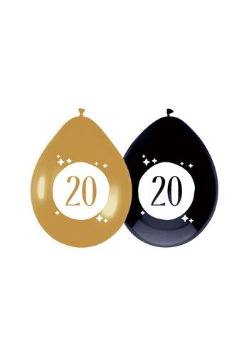 Ballonnen 20 Festive Gold