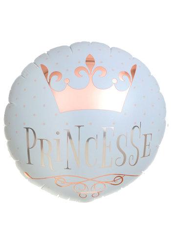 Folieballon Princesse - 45cm