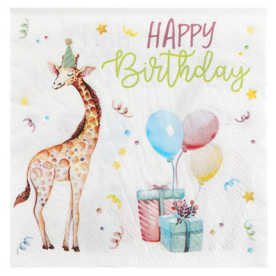 Servetten Happy Kiddies - 16.5x16.5cm - 20st-1