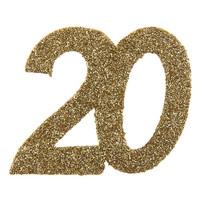Glitter Confetti 20 - 6st - 6x6cm