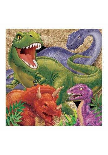 Servetten Dinosaurus - 16 st