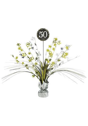 Centerpiece 50 Sparkling Celebration Gold - 45,7 cm