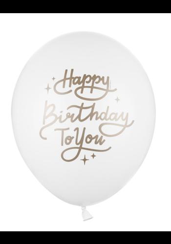 Heliumballon Happy Birthday To You (28cm)