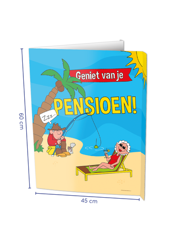 Window Sign - Pensioen