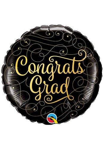 Folieballon Congratulations Grad - 45cm