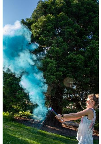 Holi Powder Shooter Gender Reveal - Blauw - 30cm