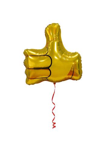 Folieballon Duim Omhoog - 48cm