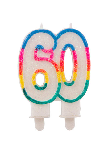 Cijferkaarsje 60