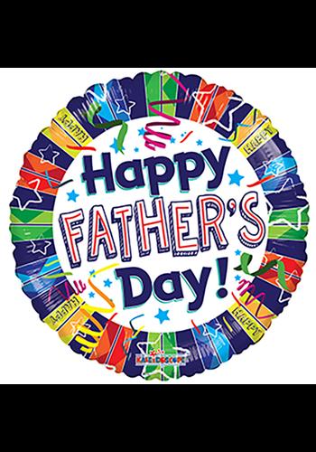 Folieballon Happy Father's Day - 45cm