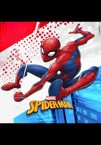 Spiderman Servetten 33x33cm - 20 stuks