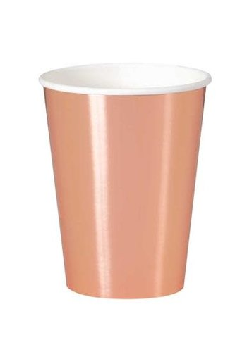 Bekertjes Rosé Gold 350ml - 8 stuks