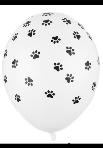 Heliumballon Pootjes - 30 cm