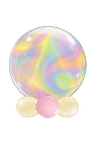 Bubble Iridescent Swirls - 55 cm - 24 inch