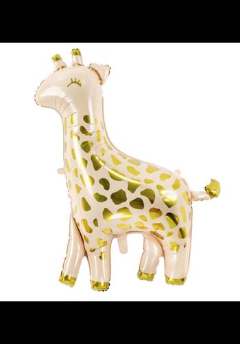 Folieballon Giraffe - 80x102cm