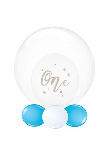 Folieballon Clearz Crystal  helder - 50cm