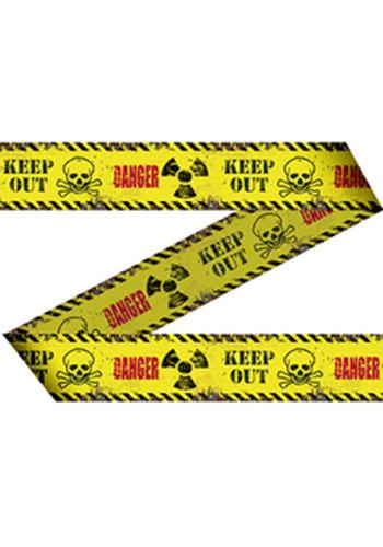 Afzetlint Danger / Keep Out 15mtr